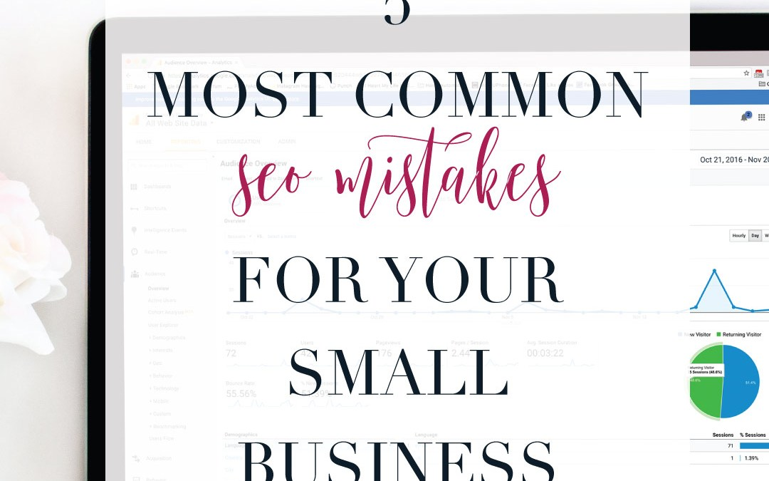 The 5 Most Common SEO Mistakes for your small business