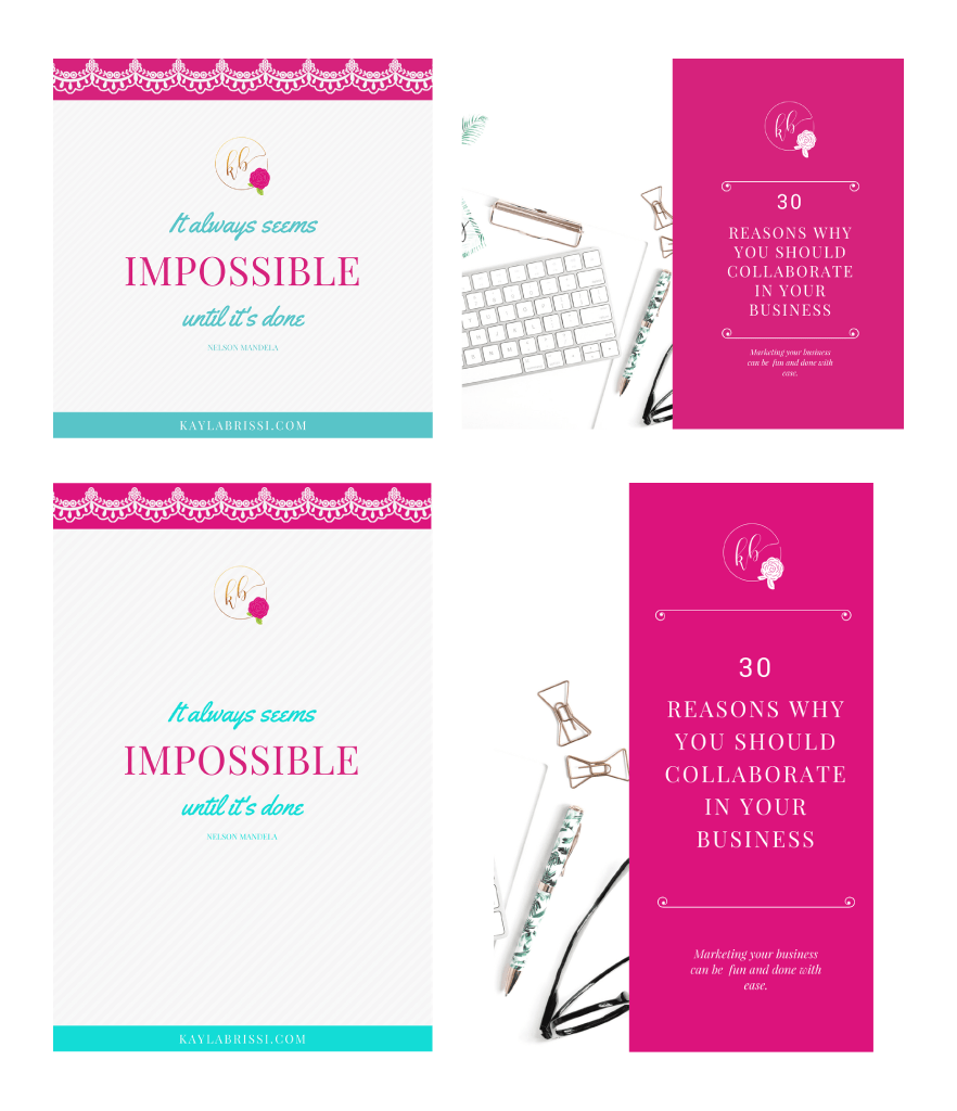 Client Work Brand Refresh | small business owner | online business | branding | brand strategy
