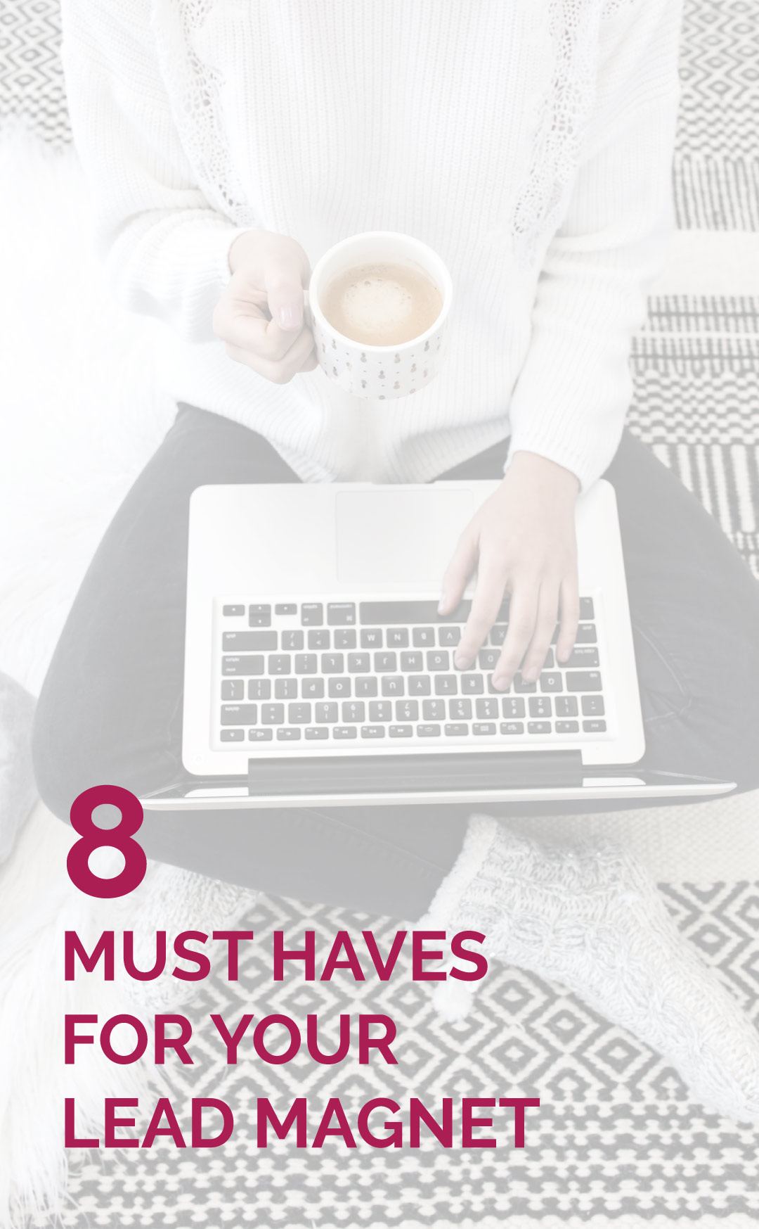 If you are an online business owner or blogger trying to grow your email list you cannot ignore your lead magnet. And your opt-in can't just be any old thing you have lying around it needs to be epic. Read my post on the 8 must haves for your lead magnet and grow your email list!