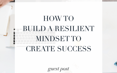 How to build a resilient mindset to create success