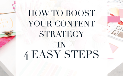 How to boost your content strategy in 4 easy steps