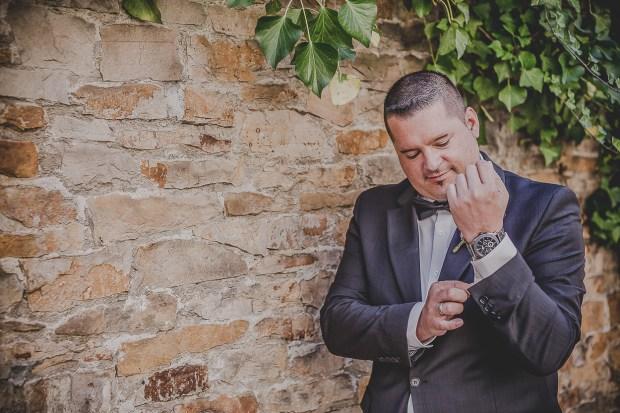 Bräutigam Hochzeitsfotos Reultingen