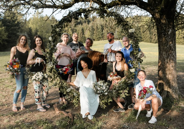 gruppenfoto styled shoot