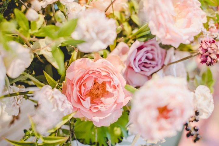 Michaela Klose Messestand 2018 Hochzeitsmesse Blumendeko Blumenschmuck Gesteck