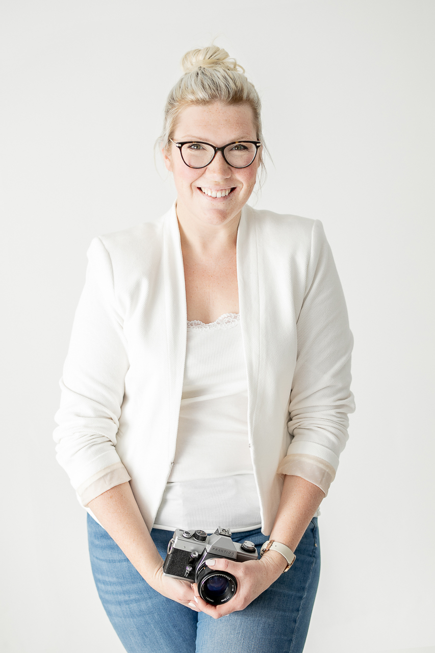Selbstportrait Michaela Klose Fotografin