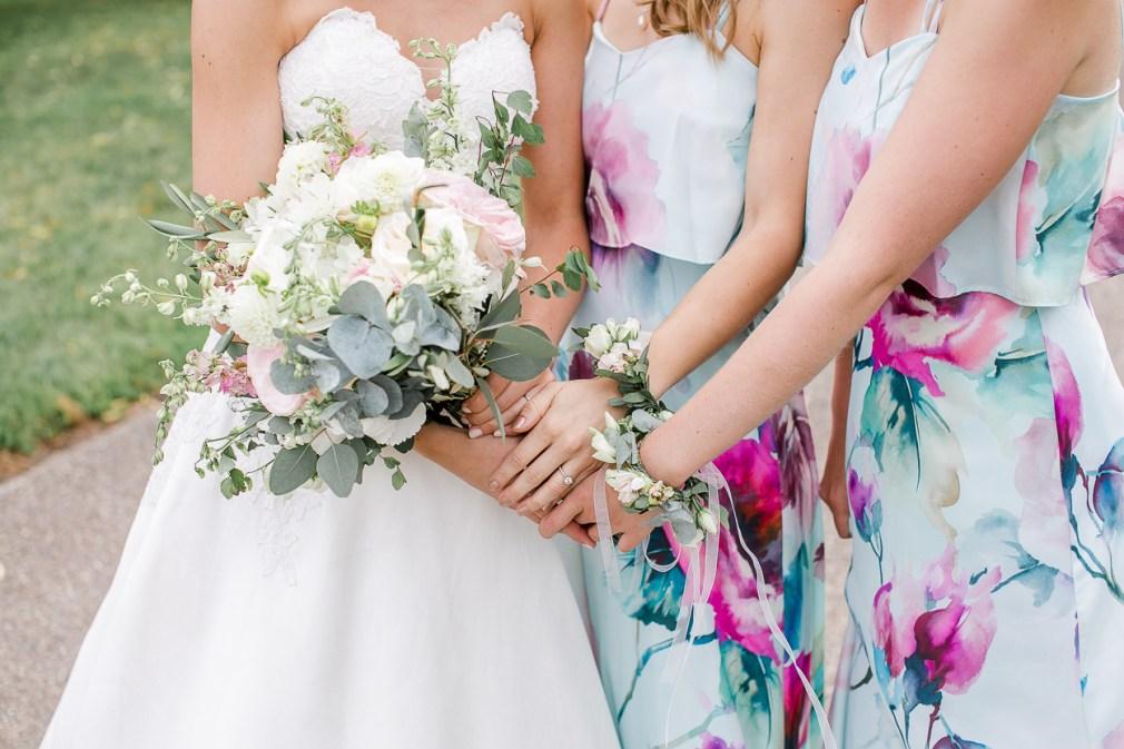 Brautjungfern Armbänder Floral