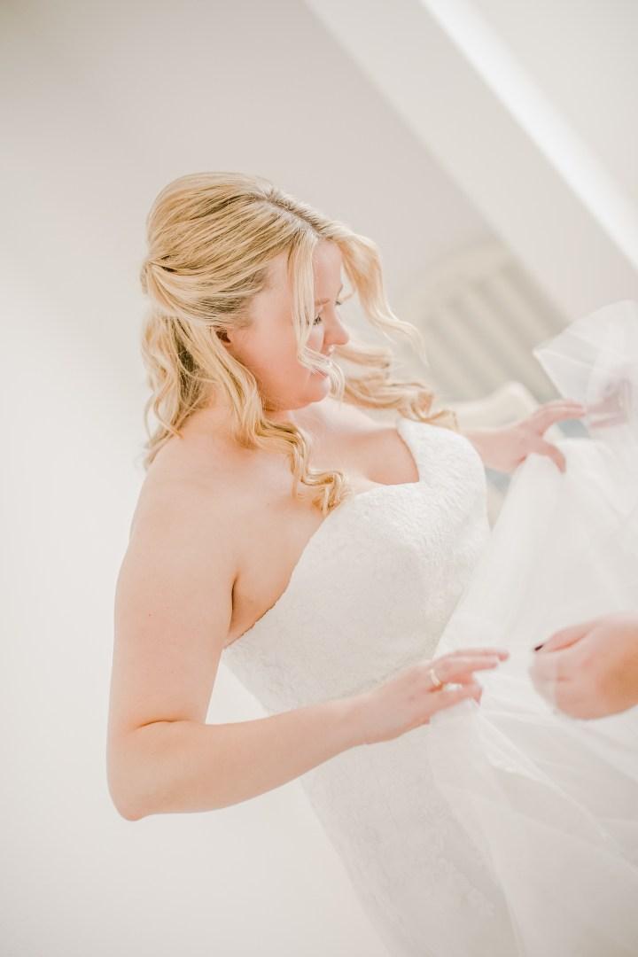 Hochzeitsreportage Getting Ready Braut