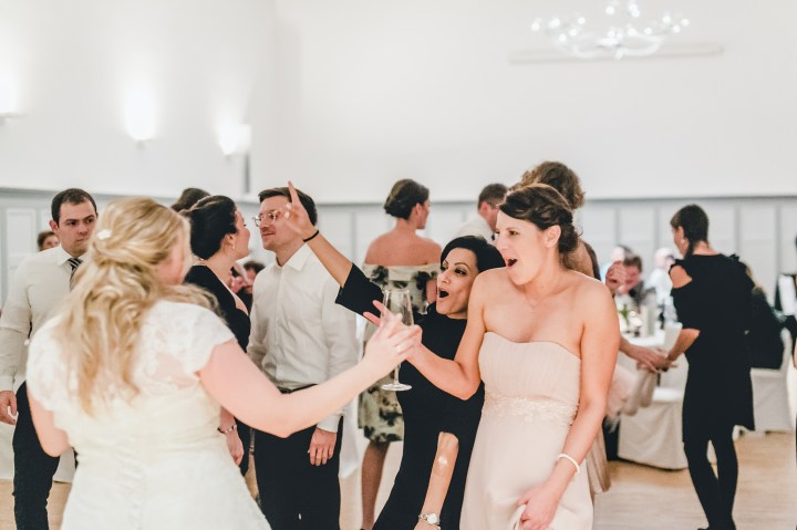 Hochzeit Party Trauzeuginnen