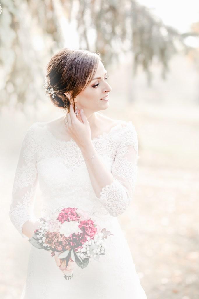 Herbstbraut Hochzeit im Herbst