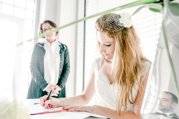 zeitlos schöne Hochzeit in Stuttgart Unterschrift