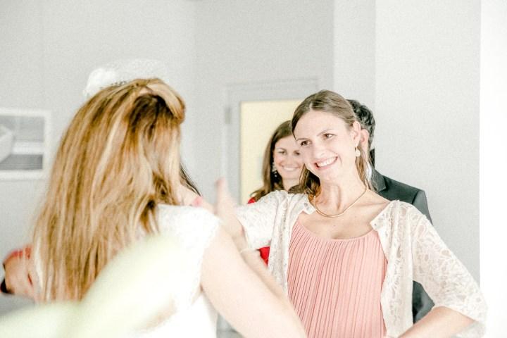 zeitlos schöne Hochzeit in Stuttgart Gratulation
