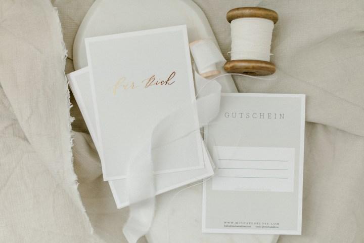 Gutschein // Die Geschenkidee