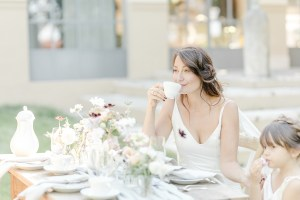Kaffee und Kuchen Kaffeetafel Hochzeit Toskana