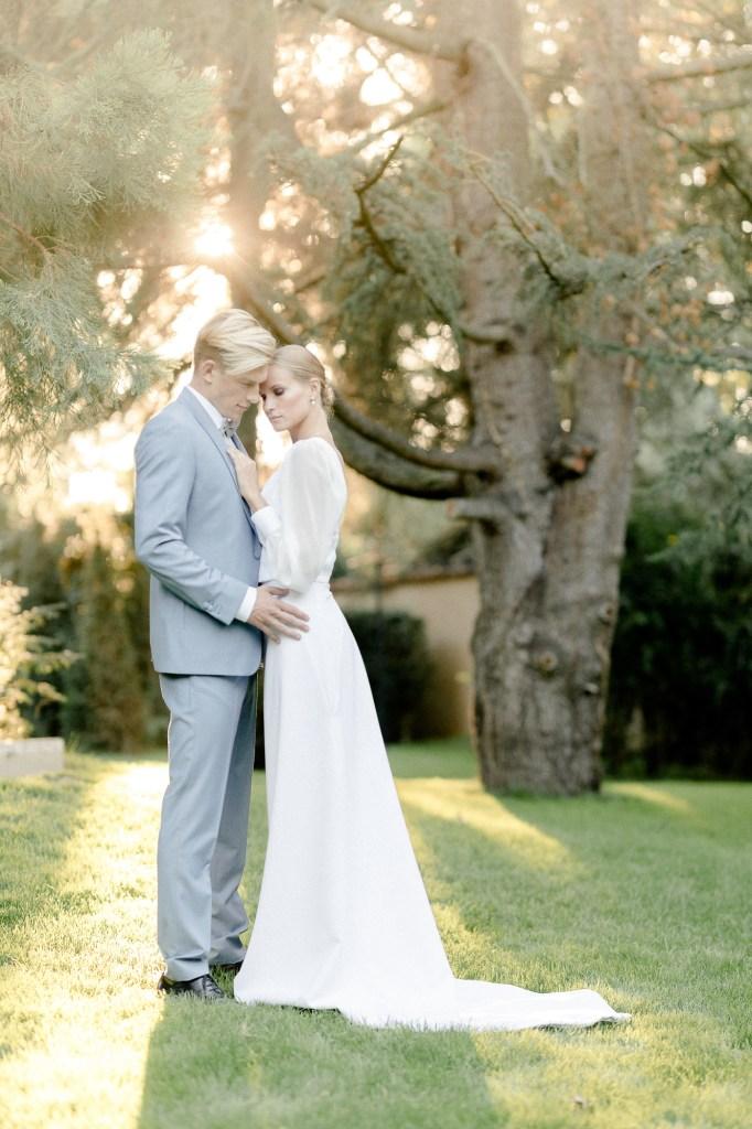 Hochzeitsfotos Abendsonne Hochzeitsfotograf Pfalz Hochzeit