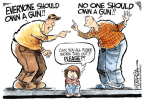 That Damn Gun Control Debate Over And Over Again, But What's Getting Done?