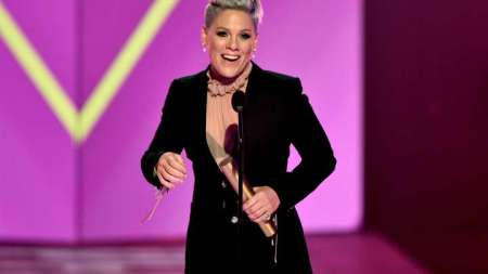 pink p!nk peoples champion award