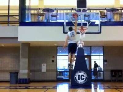 5'11 Dunker from Division III School Trying to Take Part in NCAA Dunk Contest