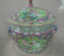 Jar at the Peranakan Museum
