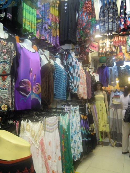 One of the many stores at Bugis Village