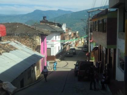 street scene Miraflores