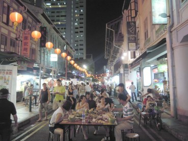 A fun place and reasonably priced place to eat - Hawkers Central