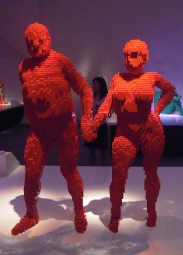 LEGO sculptures by Nathan Sawaya