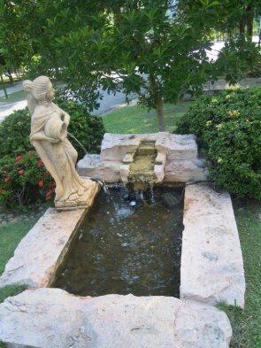 Fountain at Hort Park Singapore