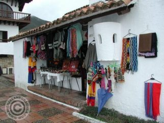 One of the stores in Guatavita