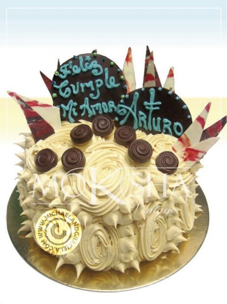 Moksha's Birthday cakes are impressive