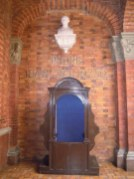 One of the old confessionals