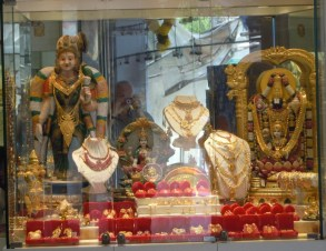 Gold store in Little India. There are several in the area.