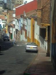 Street scene in Candelaria