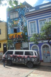 Home and van in Candelaria.
