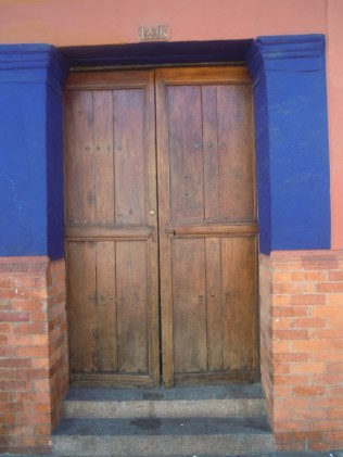 Door and bright colors in Candelaria