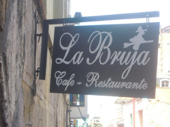 "Cafes and small restaurants abound in Candelaria. La Bruja means ""The witch."""