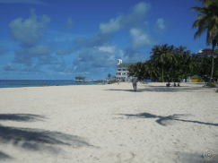 one of the beaches in San Andres