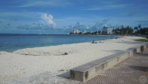 One of the many beaches in San Andres