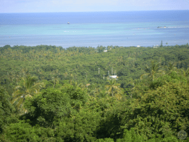 View from the highest point in San Andres