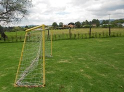 At Muu there is a soccer field for children to play in.