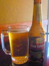 Frambresa serves Colombian beer