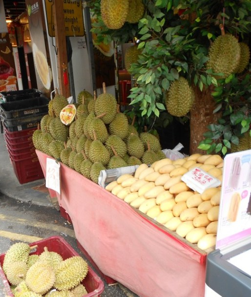 Fruit sellers have wonderful stands