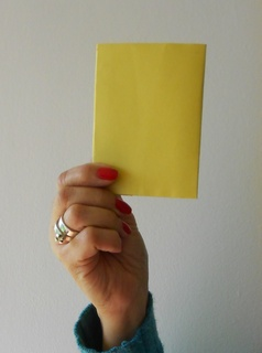 Yellow card 320