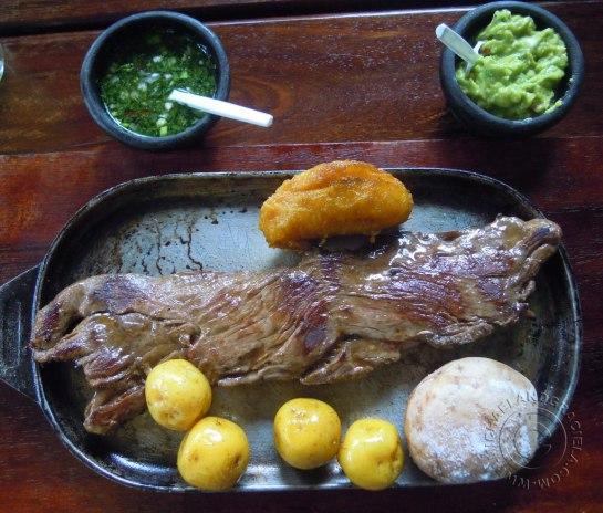 Baby beef at Cocina de Colombia