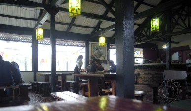 Inside dining @ Cocina de Colombia