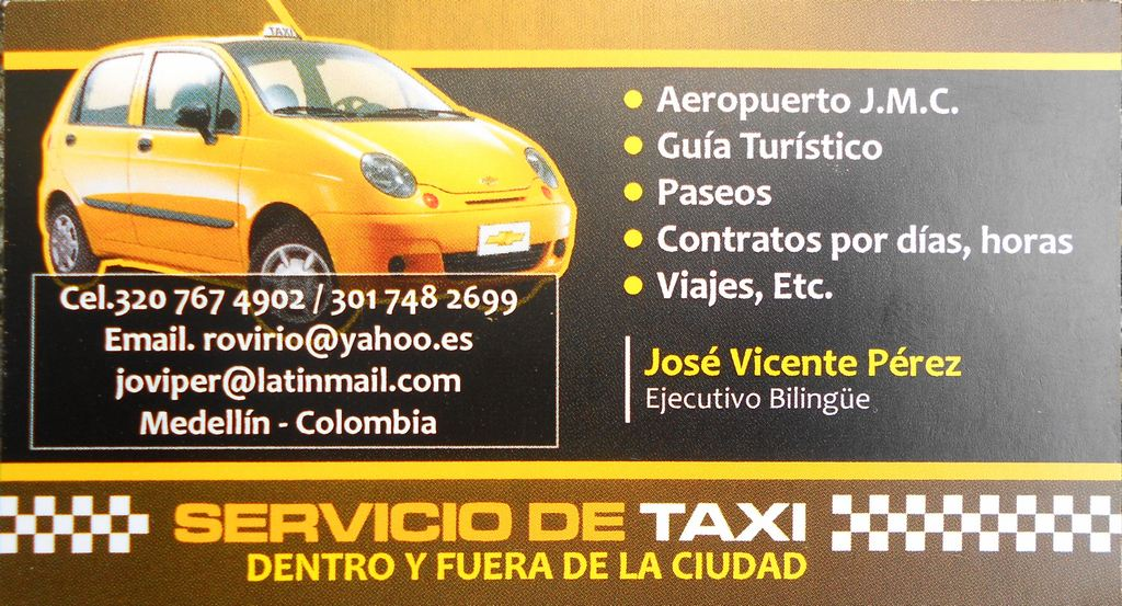 Taxi Driver Business Card - Best Business 2017