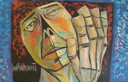 Guayasamin hand