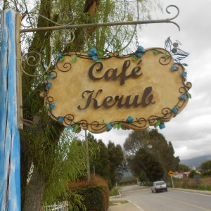 Cafe Kerub front sign