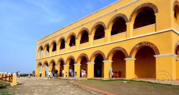 Outside of Castillo de Salgar