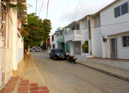Street where Graciela's cousin grew up