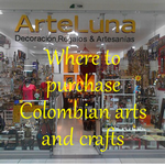 Arte Luna in Centro Chia - Colombian Crafts and Knowledgable Helpful Staff